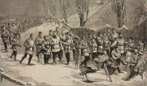 Le Club de raquettes Terra Nova sur le mont Royal (1875, domaine public).