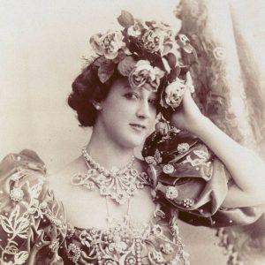 La Belle Otero vers 1890.