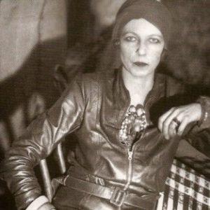 Nancy Cunard en 1932 à Harlem