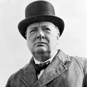 Sir Winston Churchill en 1942.