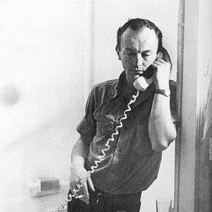 Frank O'Hara, 1965, par Mario Schifano