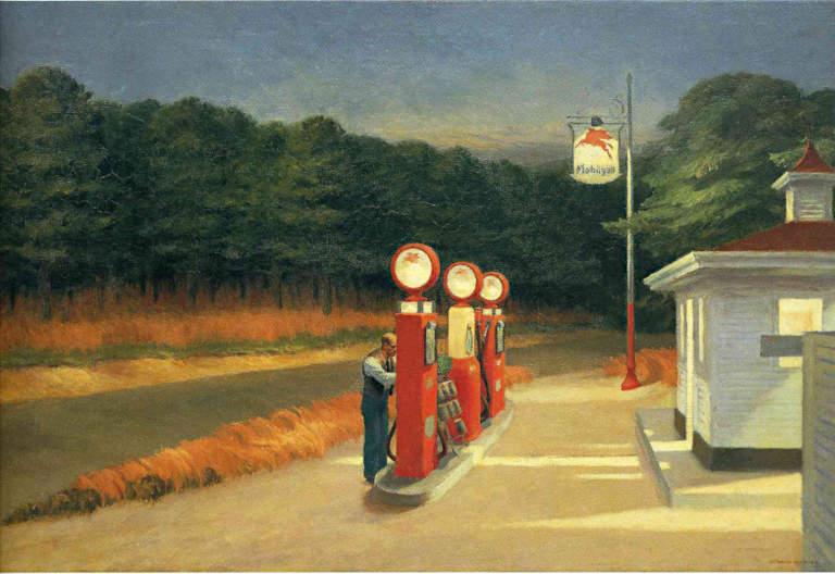 Essence, Edward Hopper, 1940