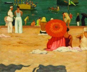 À la plage (John Lyman)