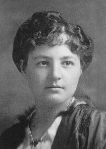 Justine Lacoste-Beaubien (décembre 1902)