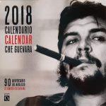 Che Guevara, calendrier 2018 cubain