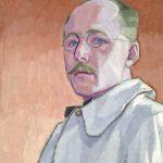 John Lyman, Autoportrait, 1918, huile sur toile