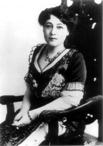 Alice Guy-Claché en 1896. Domaine public.