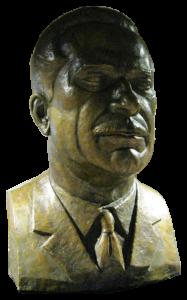Buste de Daniel Johnson par Paul Lancz