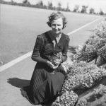 Marcelle Gauvreau, directrice de l'École de l'Éveil. 1941.