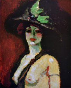 La femme au grand chapeau, 1906 (domaine public)