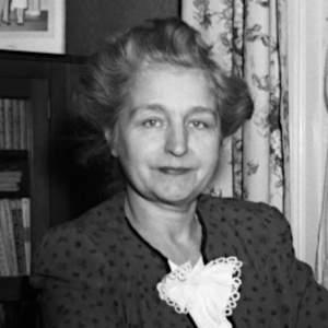 Geneviève Guèvremont (1946) par Conrad Poirier