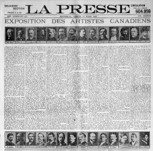 Article La Presse 1906
