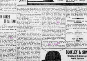 Fin article la Presse 1906