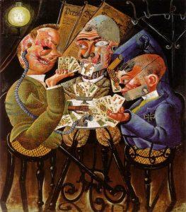 Les joueurs de Skat (1920) - publié sur le site de SOBRE NOSOTROS - CC by SA
