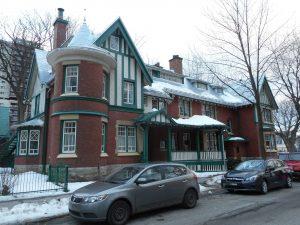 Résidence Ross, 1185, avenue du Parc, Québec.