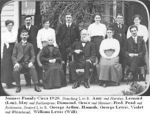 La famille Jenness aux début des années 20