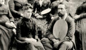 Joséphine Marchand et Raoul Dandurand.