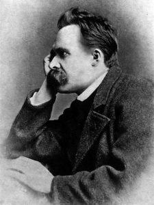 Friedrich Nietzsches, par Gustav-Adolf Schultze (1882).