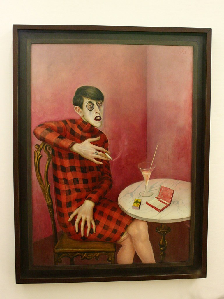 Sylvia van Harden, par Otto Dix (1926). Photo: Bernie CB (CC BY-SA-ND), Flickr.