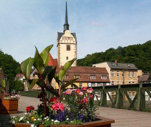 Le village de Untermhaus en 2006 (CC-BY HaPe_Gera).