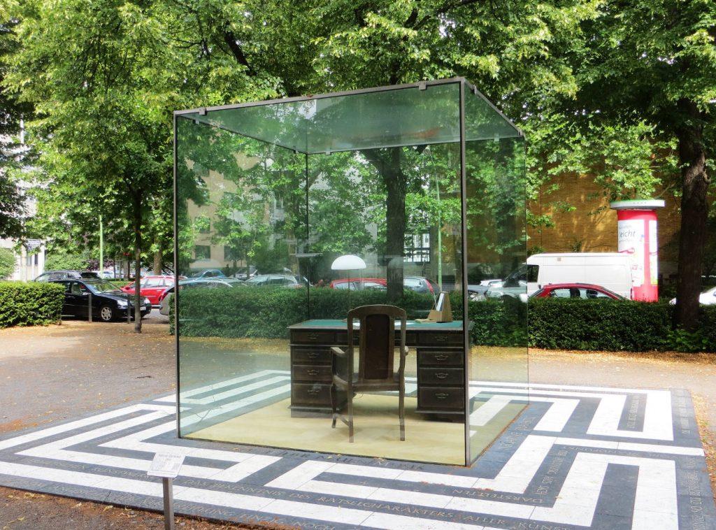 Monument Theodor W. Adorno (Francfort).